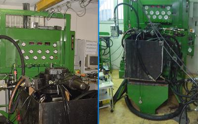 test pompe hydraulique immergee